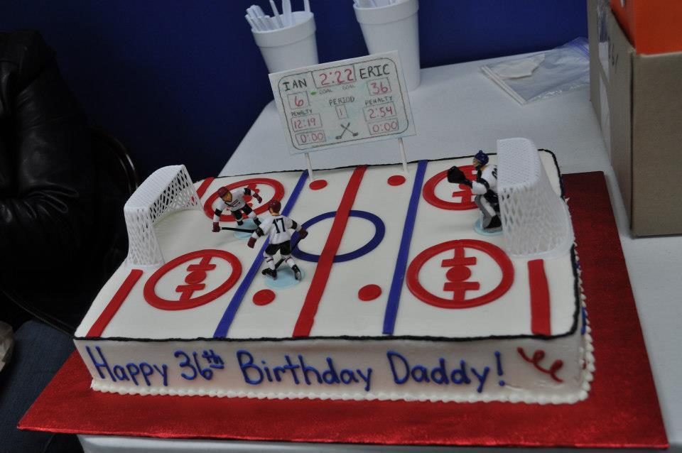 Hockey Ice Rink Cake Tiffany Takes the Cake