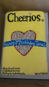 Cheerios Sheet Cake