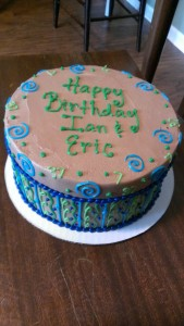 Eric and Ian Birthday Cake