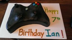 Game Controller Cake