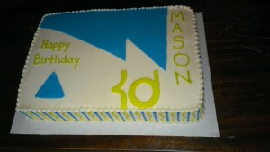 KD Sandal Cake