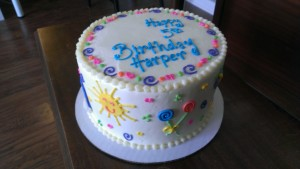 Sunshine and Lollipops Cake