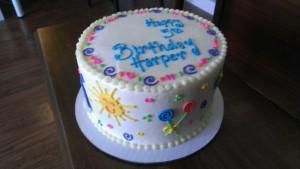 Sunshine and Lollipops Cake