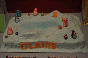 Club Penguin Cake