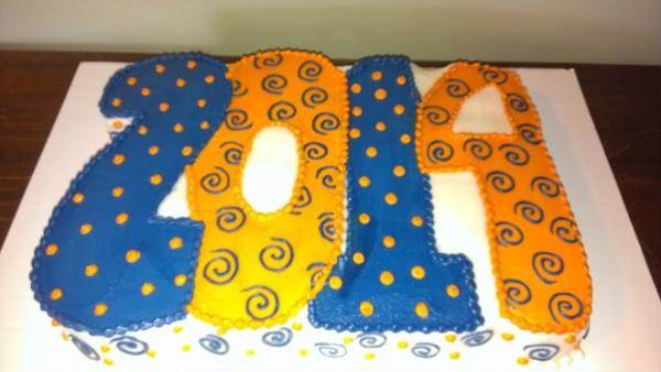 2014 Grad Cake