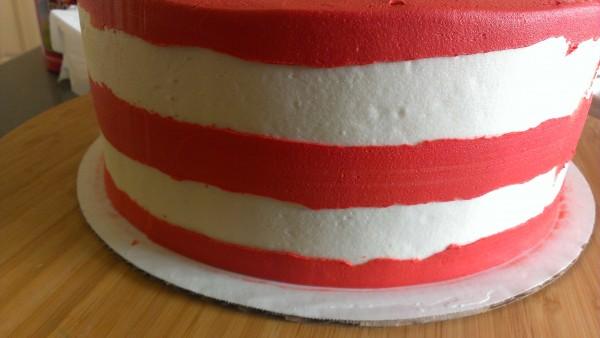 Striped cake 3