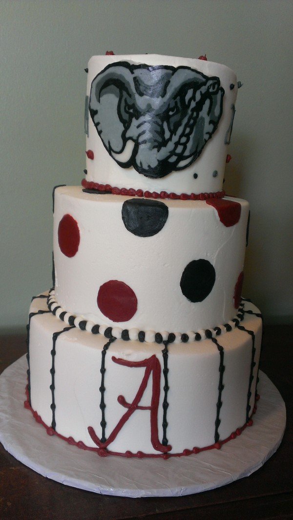 University of Alabama cake