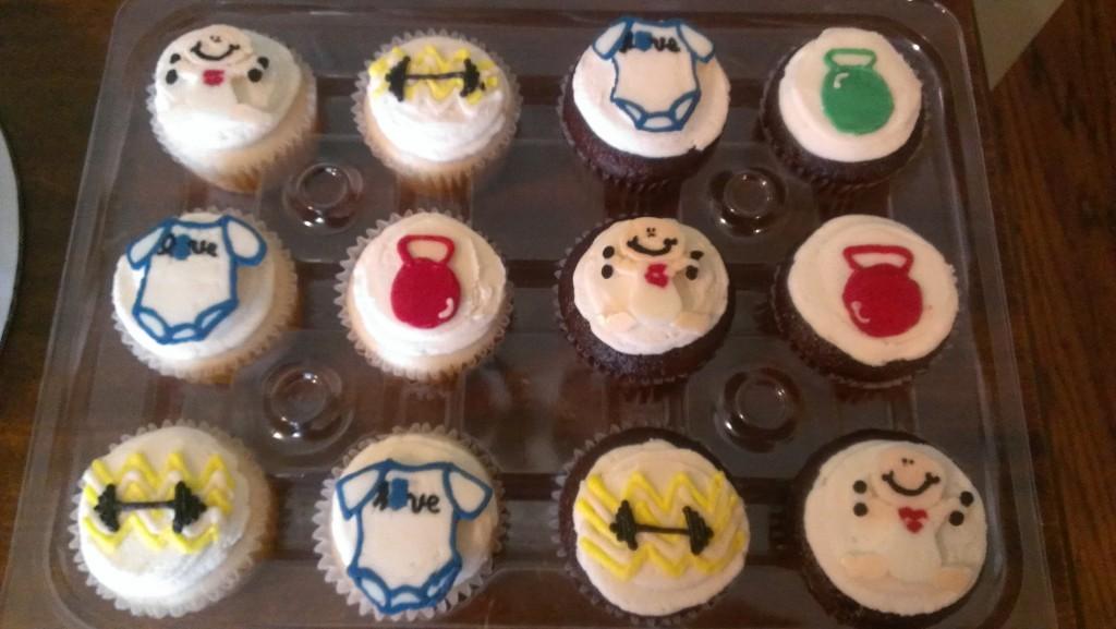 Crossfit cupcakes