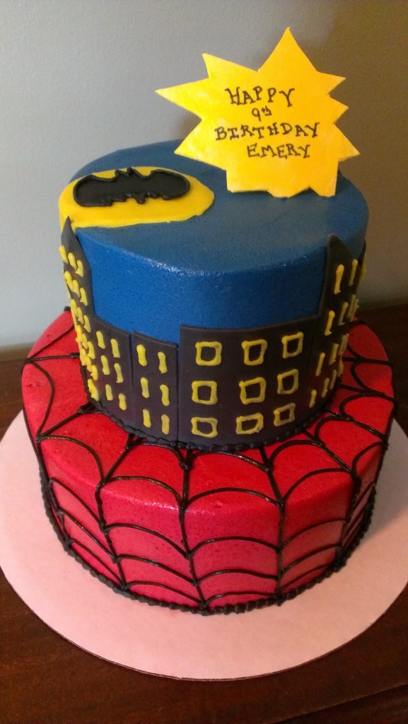Marvel Comic Cake